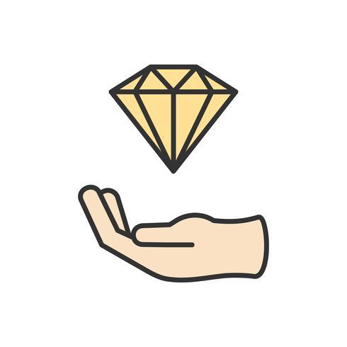 Illustration de l'icône de design graphique