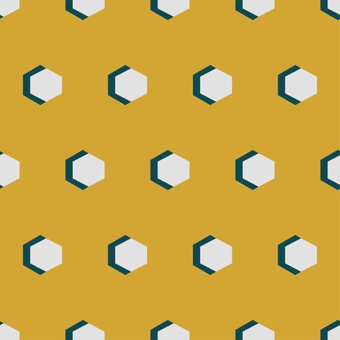 Motif géométrique vintage inspiré de la grammaire de l'ornement
