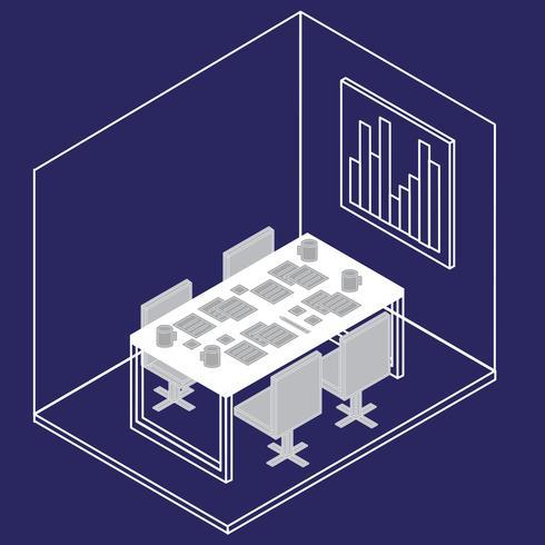 Kantoorapparatuur vector