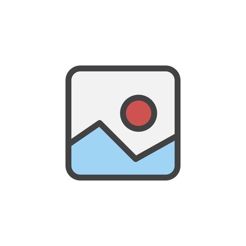 Illustratie van afbeelding pictogram