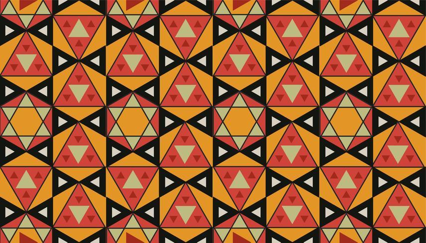 Patrón geométrico vintage inspirado en la gramática del ornamento.