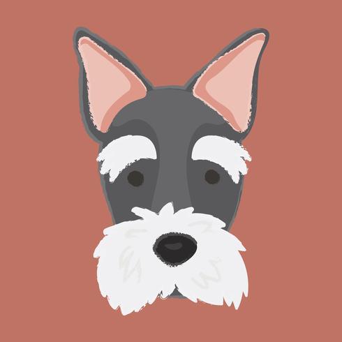 Vector de perro terrier escocés