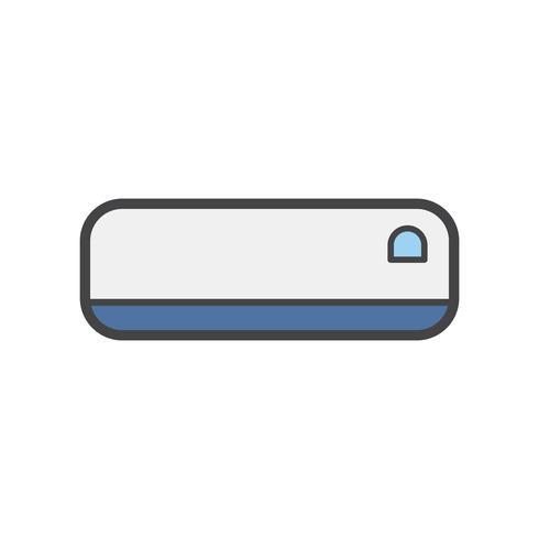 Illustratie van een airconditioner
