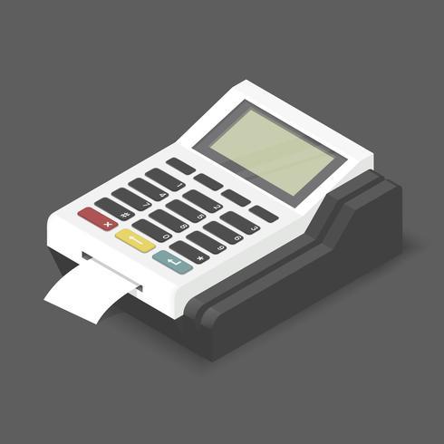 Vector de la imagen del icono de la calculadora