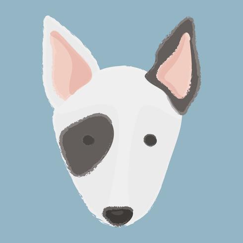 Bullterrier Hund Vektor