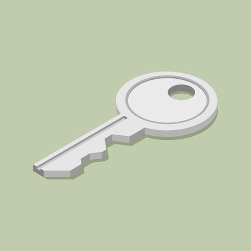 Imagem vetorial de ícone de chave