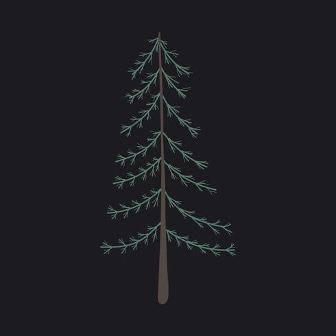 Vector de pino