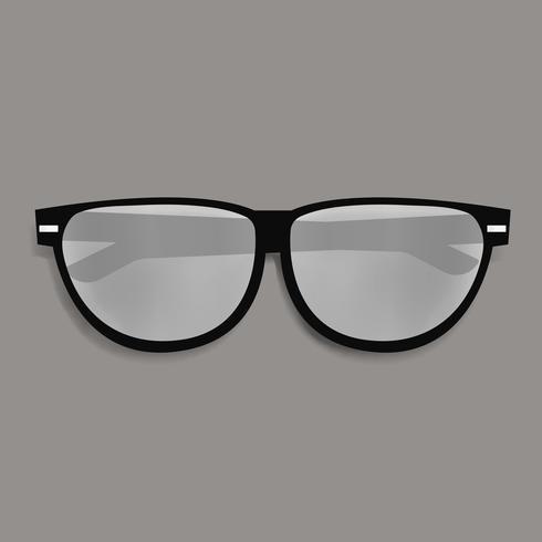 Óculos de Eyewaer vector ícone de ilustração