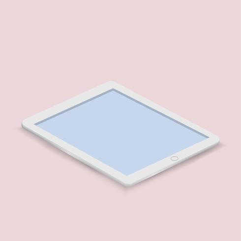 Vektor der digitalen Tabletteikone