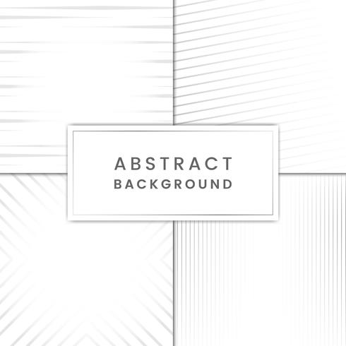 Gray abstract background vector set