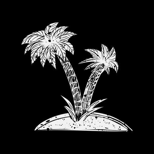 Ilustración de verano y objeto de playa.