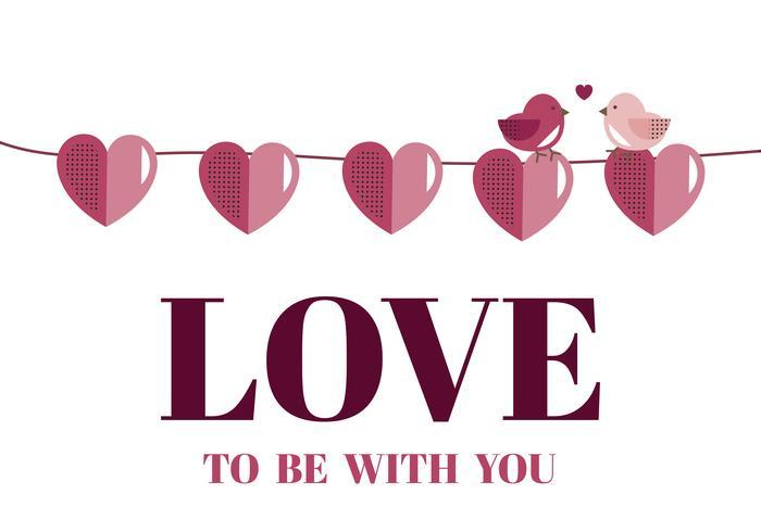 Coeur graphique Saint Valentin