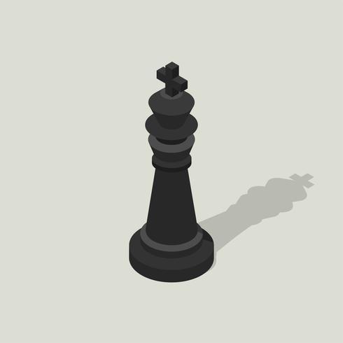 Icône de vecteur d'échecs