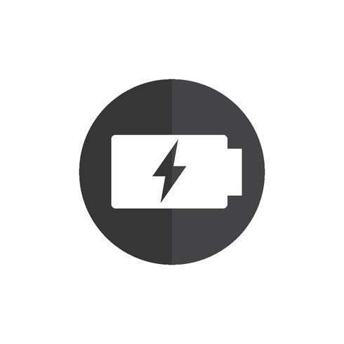 Illustration of battery status icon