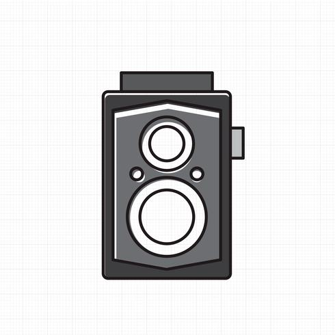 Vetor de ícone da câmera