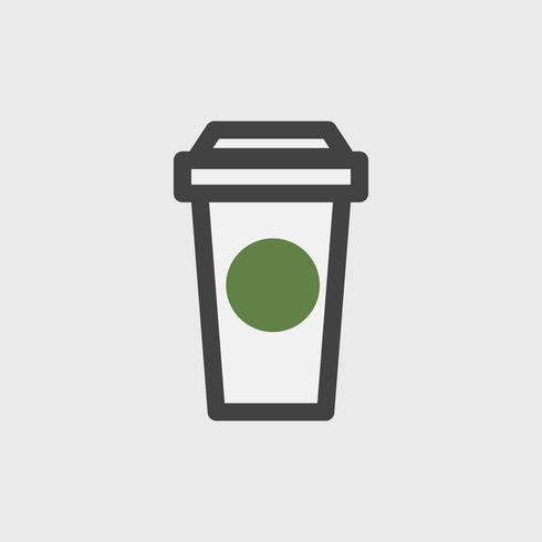 Illustrazione della tazza di caffè