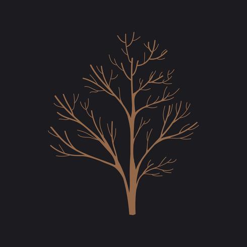 Griffonnage d'arbre