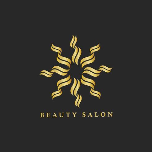 Illustrazione di marchio di branding del salone di bellezza