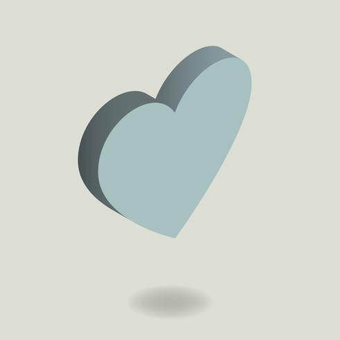 Vector of heart icon