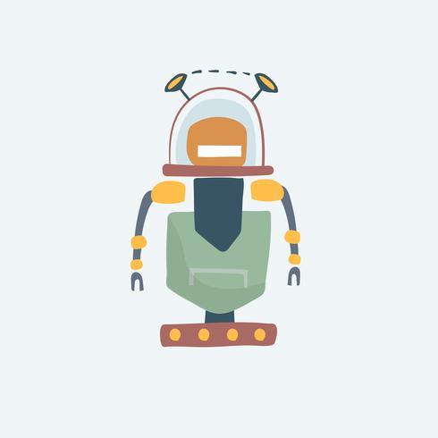 Illustration de l'illustration vectorielle robot