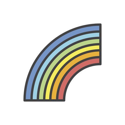Rainbow vektor