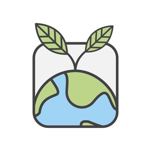 Vector tierra y naturaleza