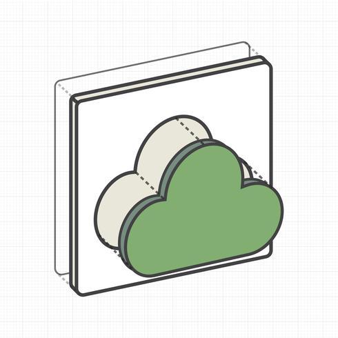 Cloud computing storage digital data connection