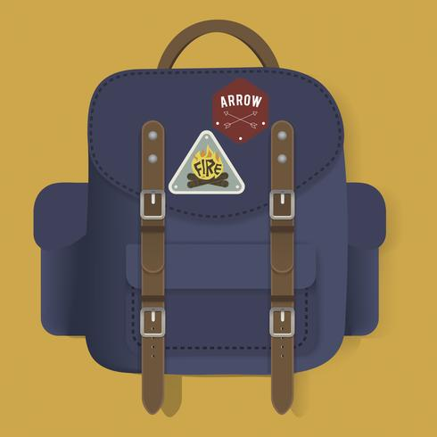 Bag Travel Journey Graphic Illustration Vector