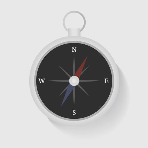 Compass Direction Graphic Illustration Vector