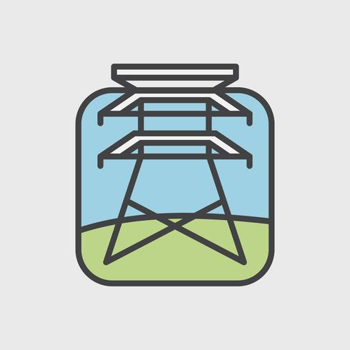Illustration ensemble de vecteur de l'environnement