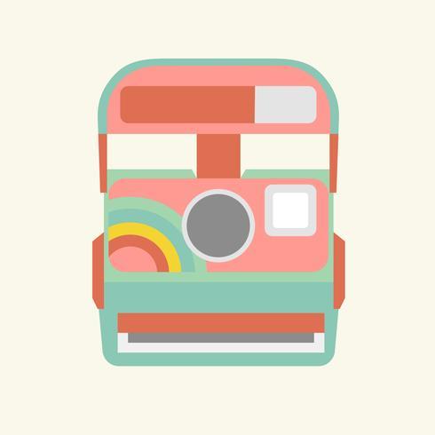 Illustrazione di una macchina fotografica
