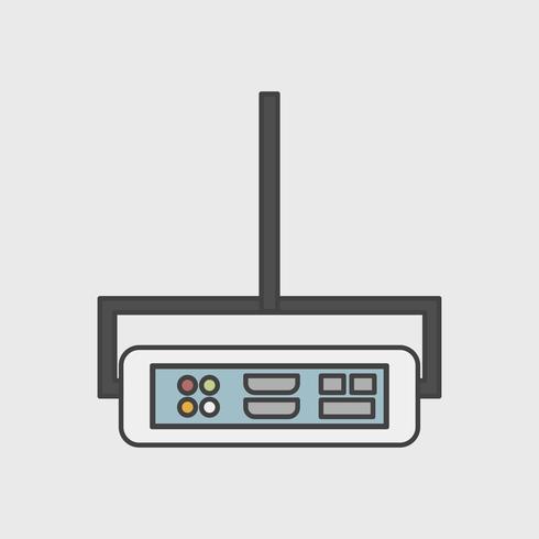 Illustration de l'icône du projecteur