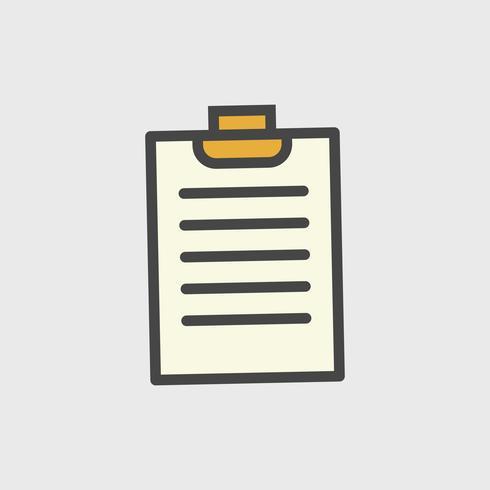 Illustrazione dell'icona del documento