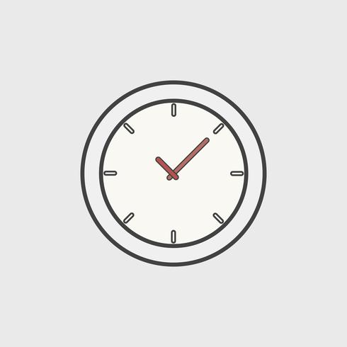 Illustration av klockikonet