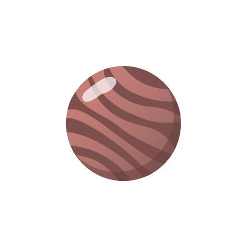Semplice illustrazione di un marmo