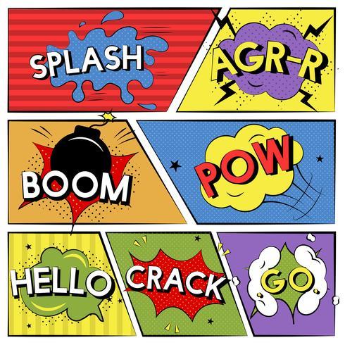 Uitdrukkingen van het komische stijlwoord