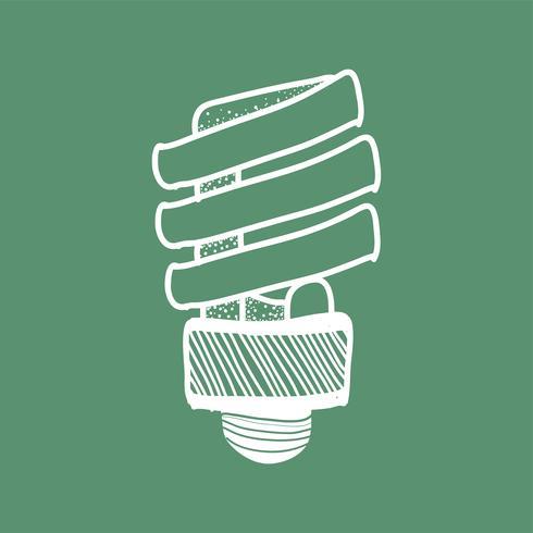 Vector of a lightbulb