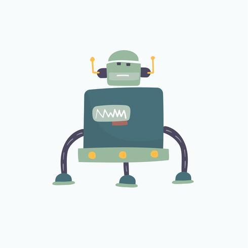 Illustration av en robot