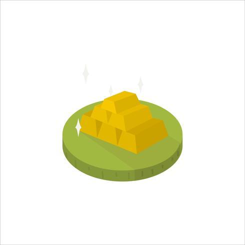 Illustration de l'icône des lingots d'or