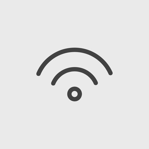 Illustration of wifi icon