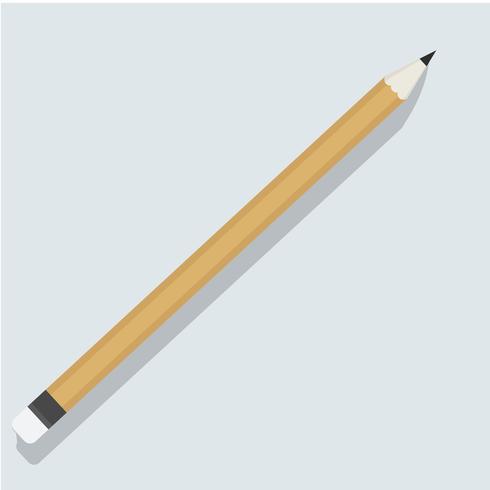 Penna brevpapper objekt ikon vektor illustration