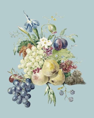 Un puñado de frutas