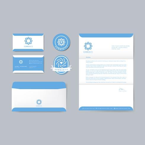 Modèles de publication du logo de la marque de l'entreprise