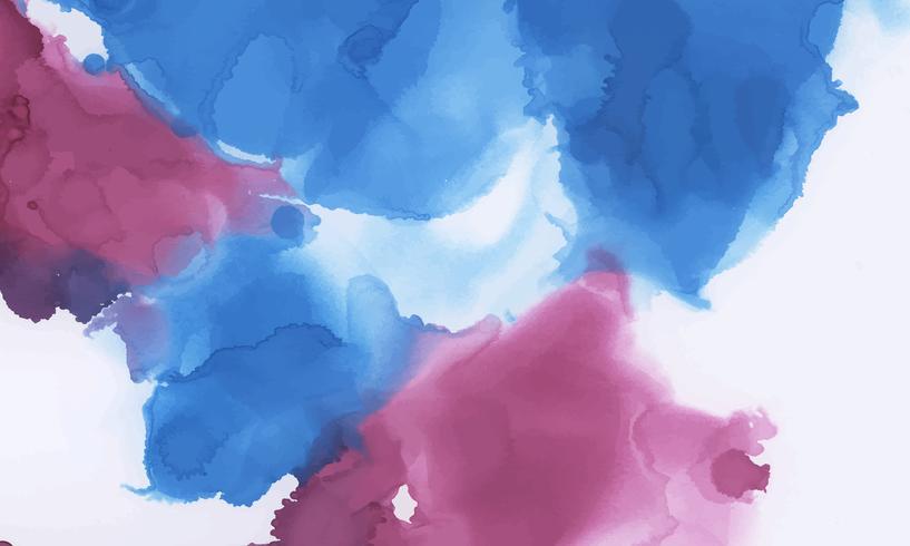 Strukturierter Hintergrund des bunten Tintenaquarells