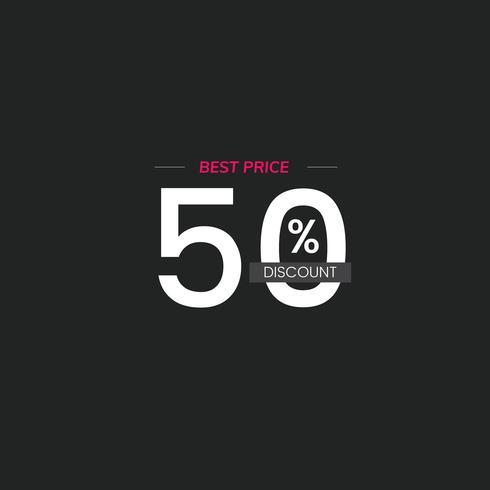 Best price 50% discount vector