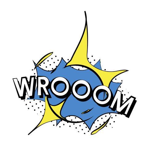Vecteur d'explosion de Wroom