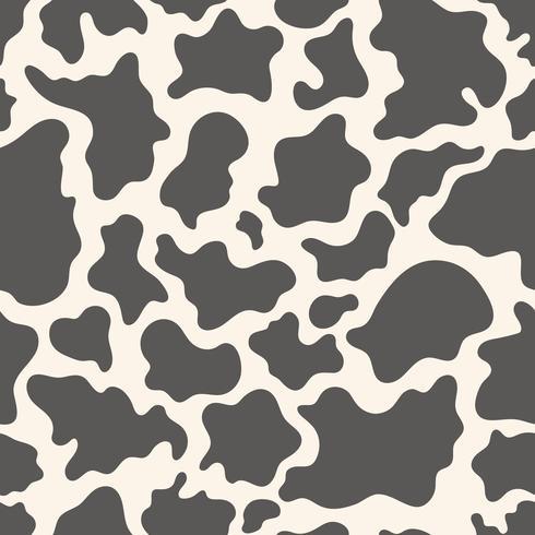 Koe huid naadloze patroon vector