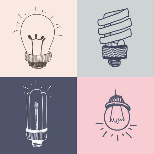 Collezione di lampadine