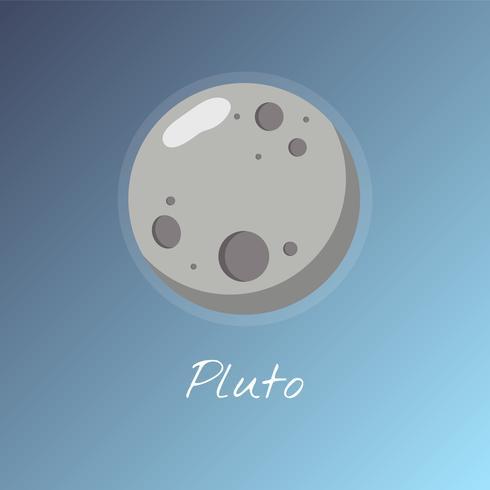 Nette Abbildung eines Planeten