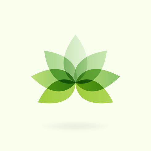 Växt symbol miljö bevarande vektor